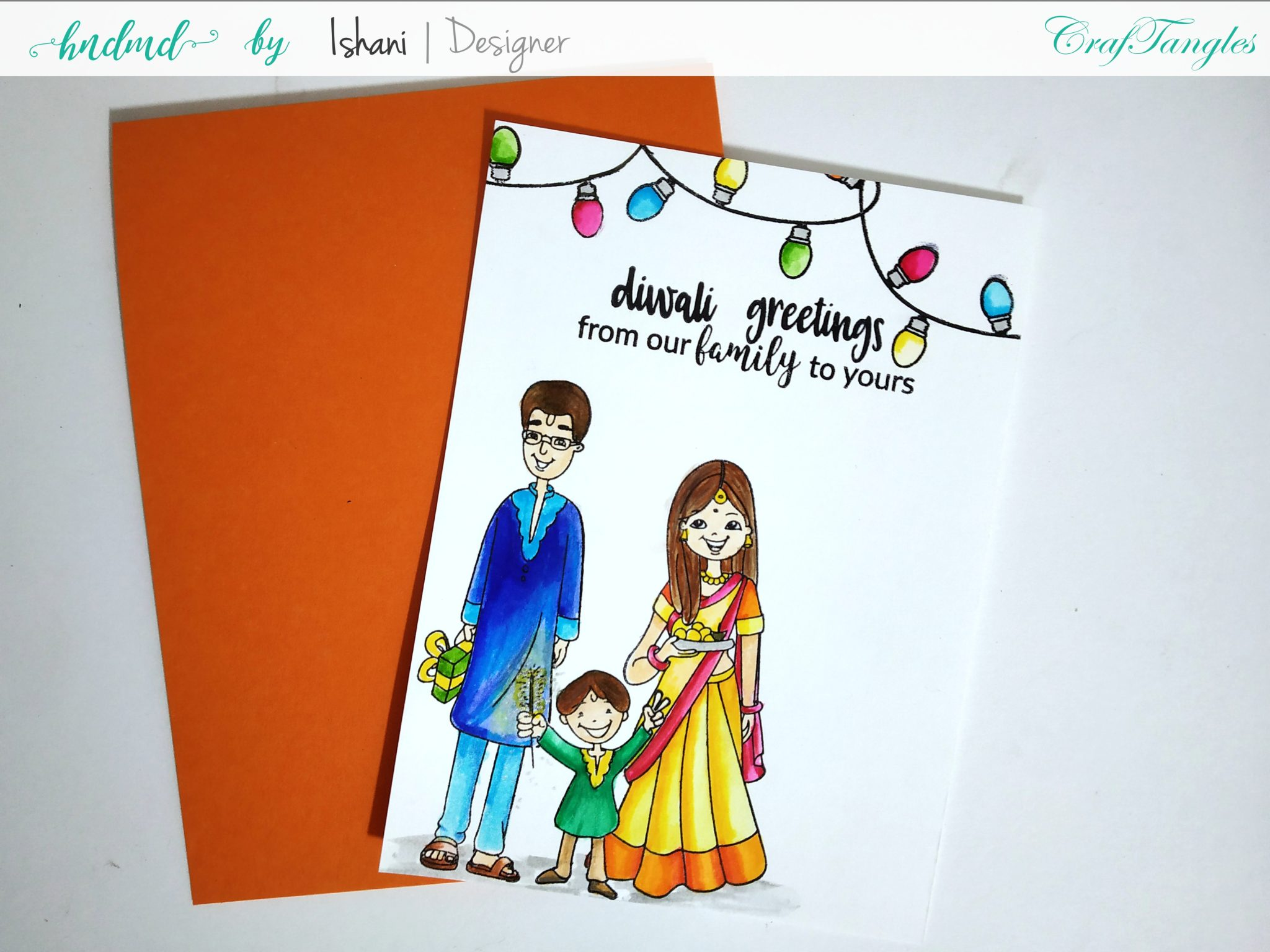 3 Bright and Happy Diwali Cards 9
