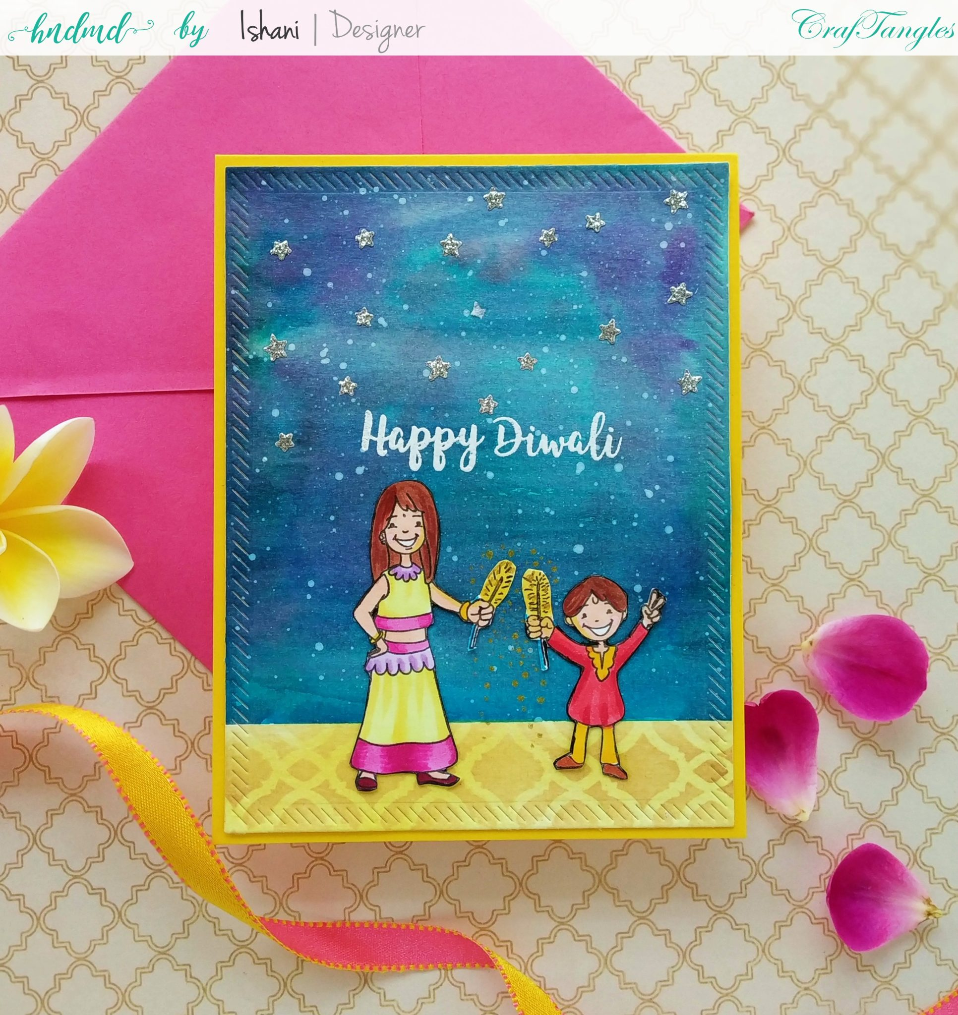 3 Bright and Happy Diwali Cards 19