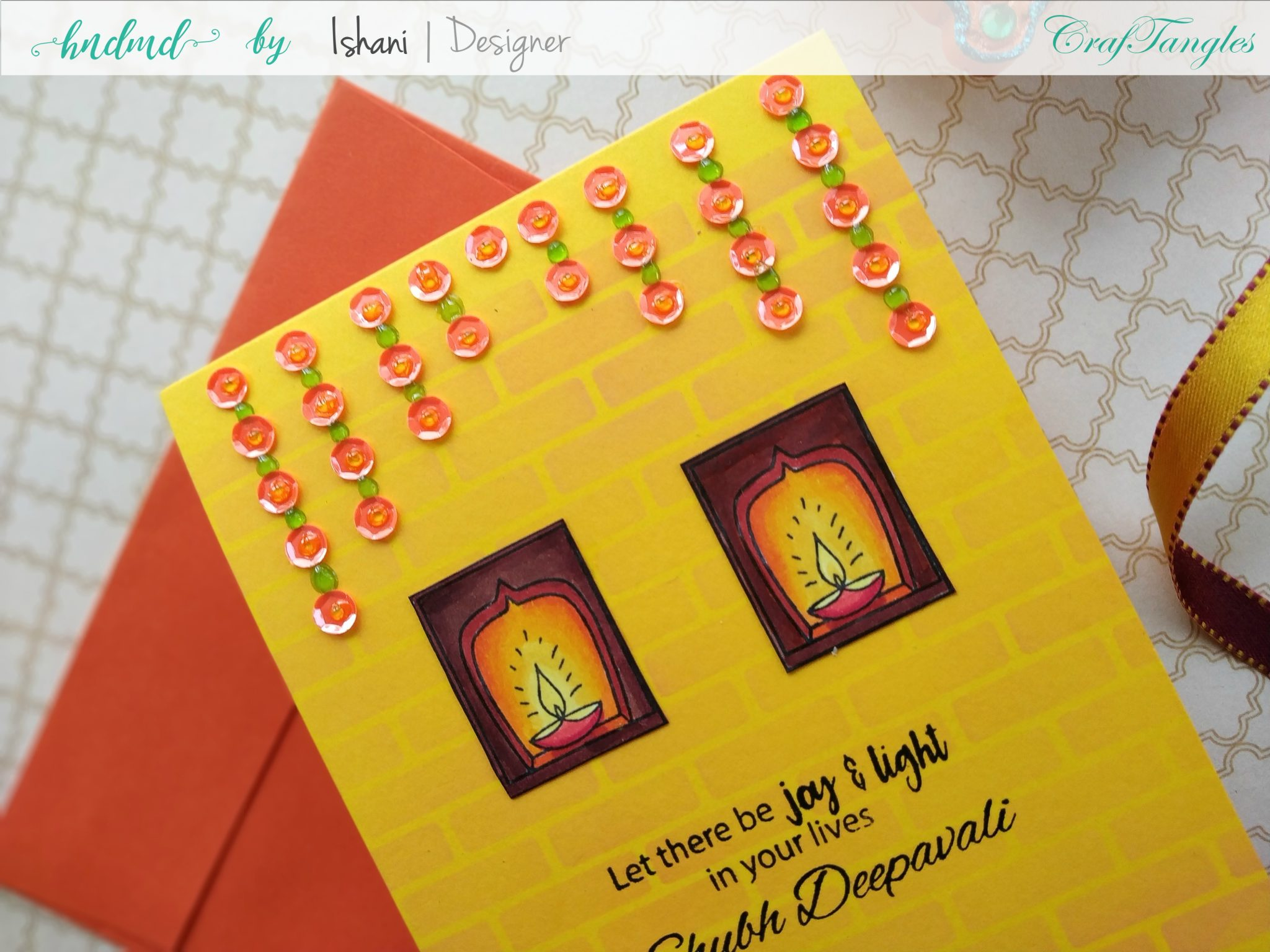 3 Bright and Happy Diwali Cards 28