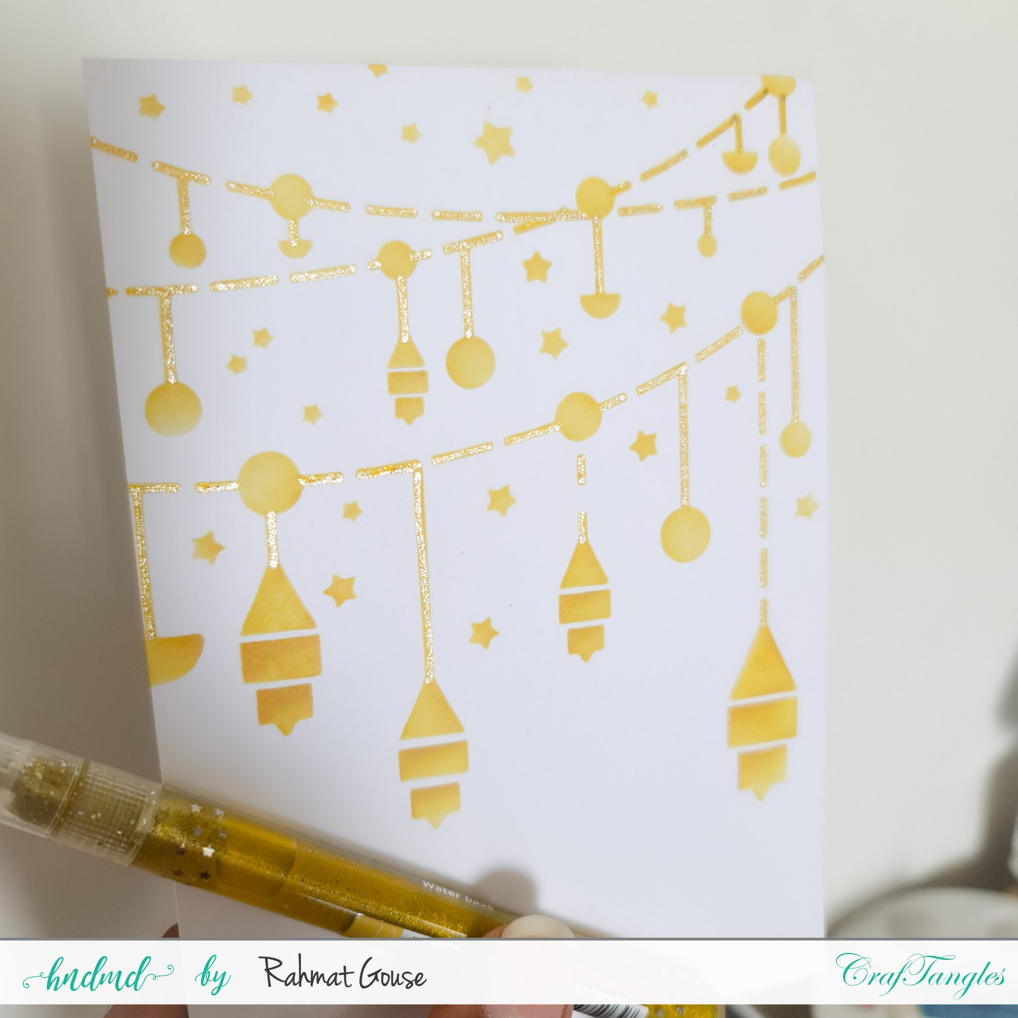 3 Diwali cards super quick and easy ones 4