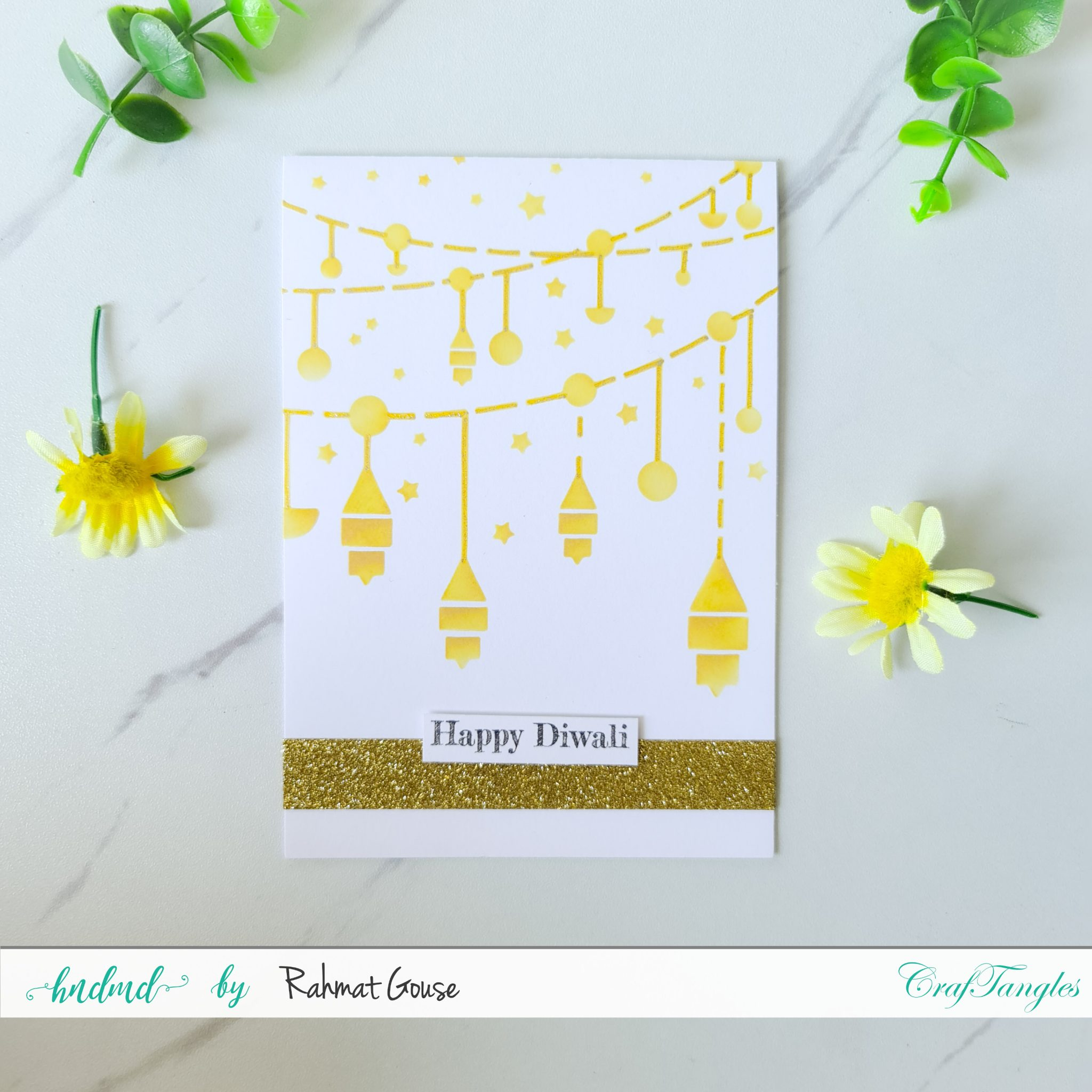 3 Diwali cards super quick and easy ones 8