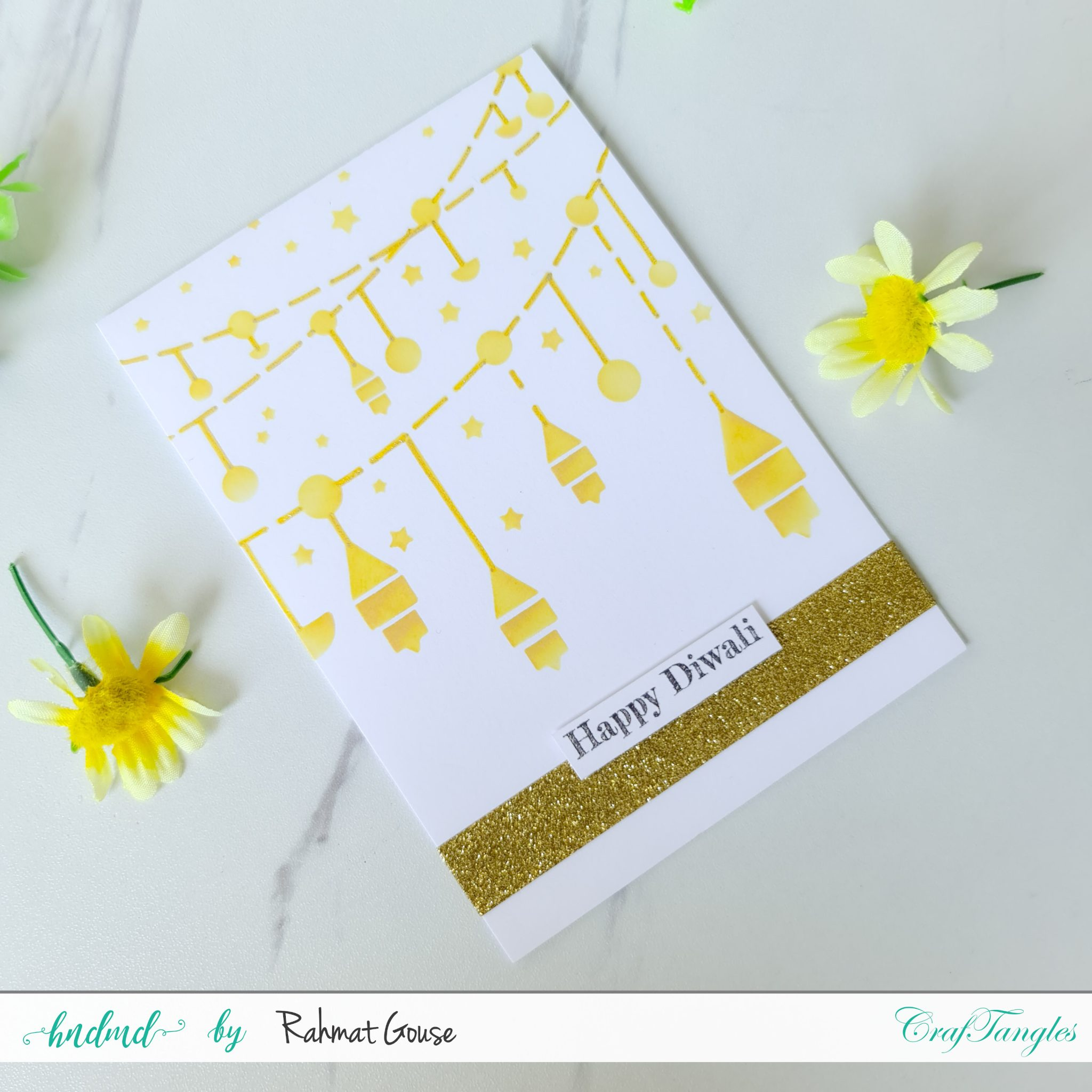 3 Diwali cards super quick and easy ones 2