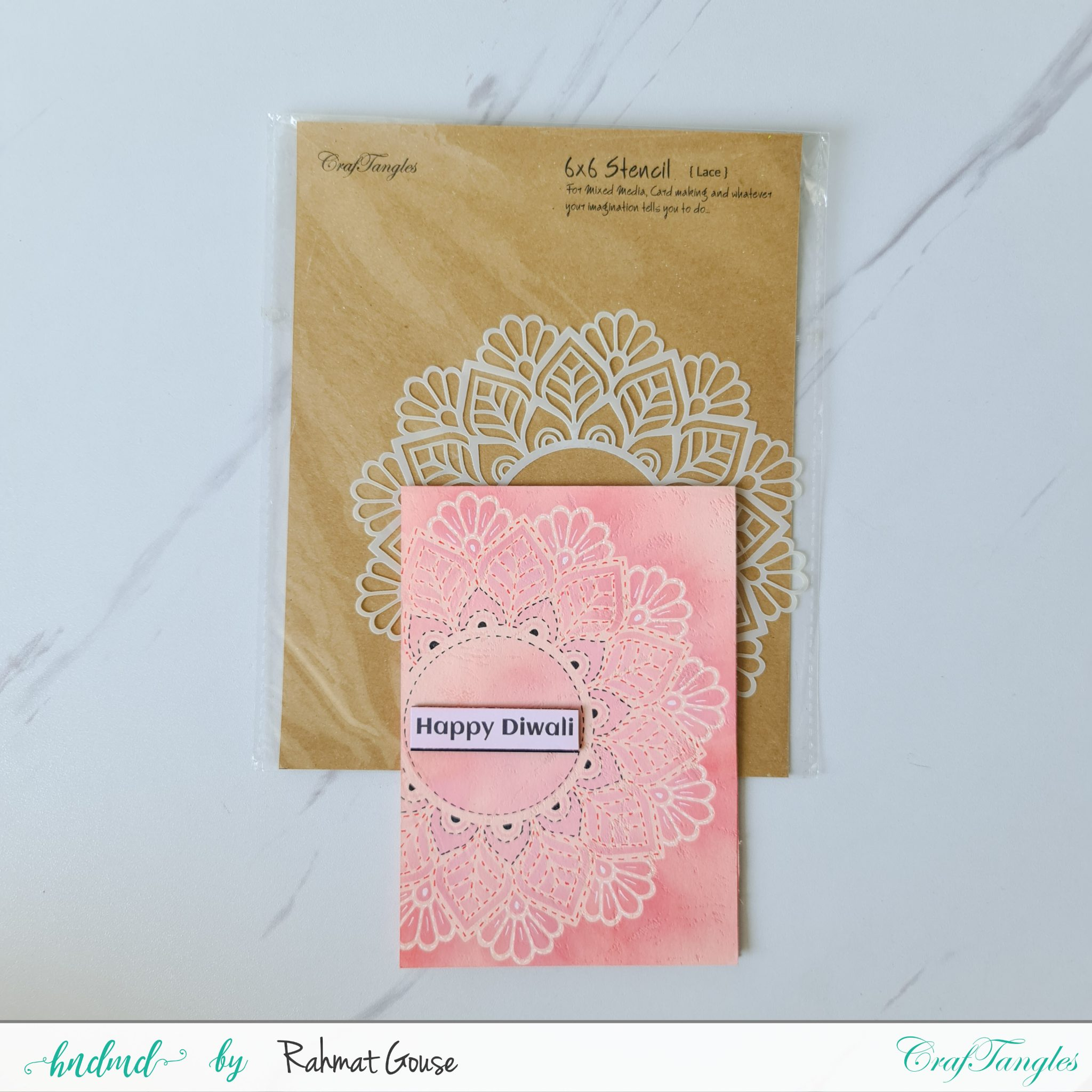 3 Diwali cards super quick and easy ones 13