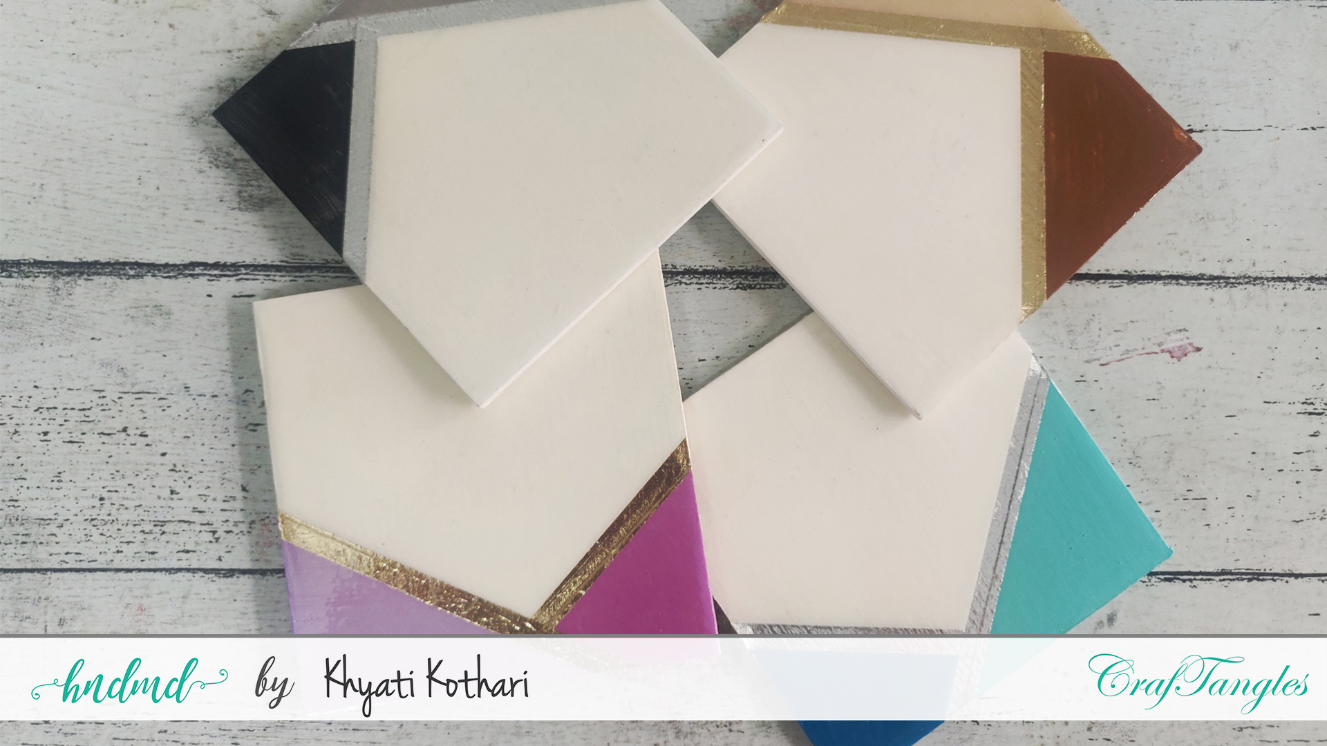 DIY Resin Coasters (Resin like without Resin) 2