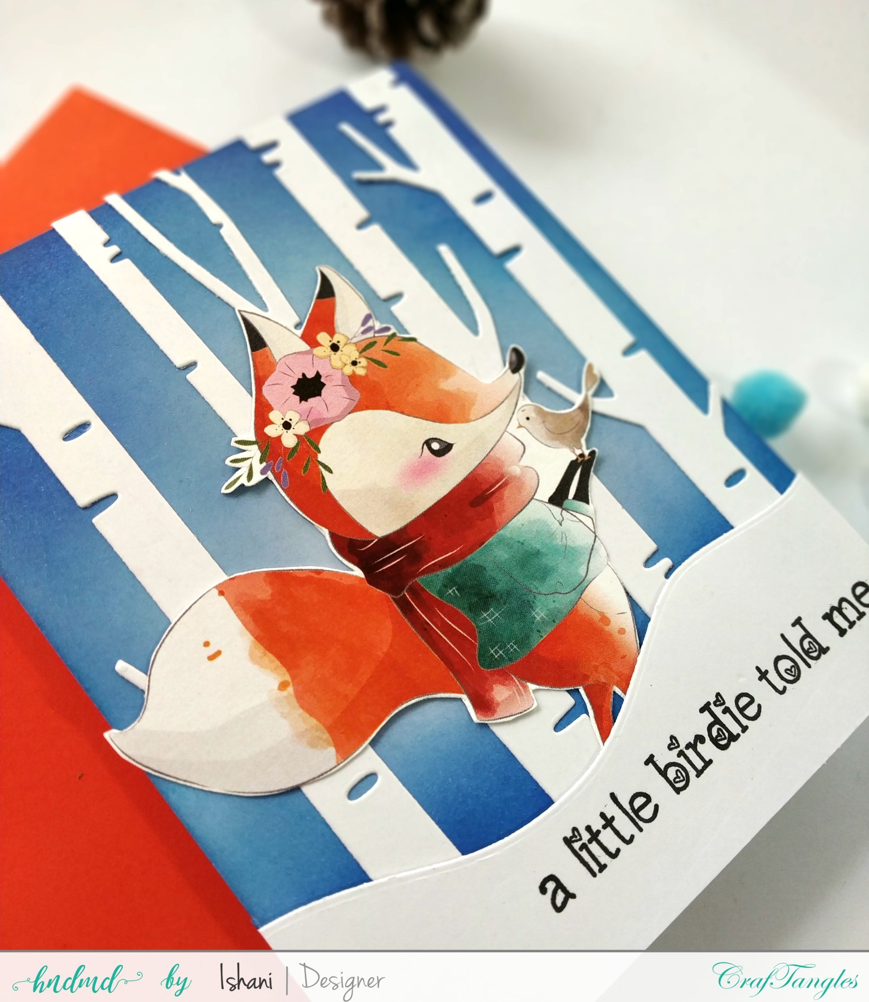 4 Quick Christmas cards with Beautiful Elements Pack 7