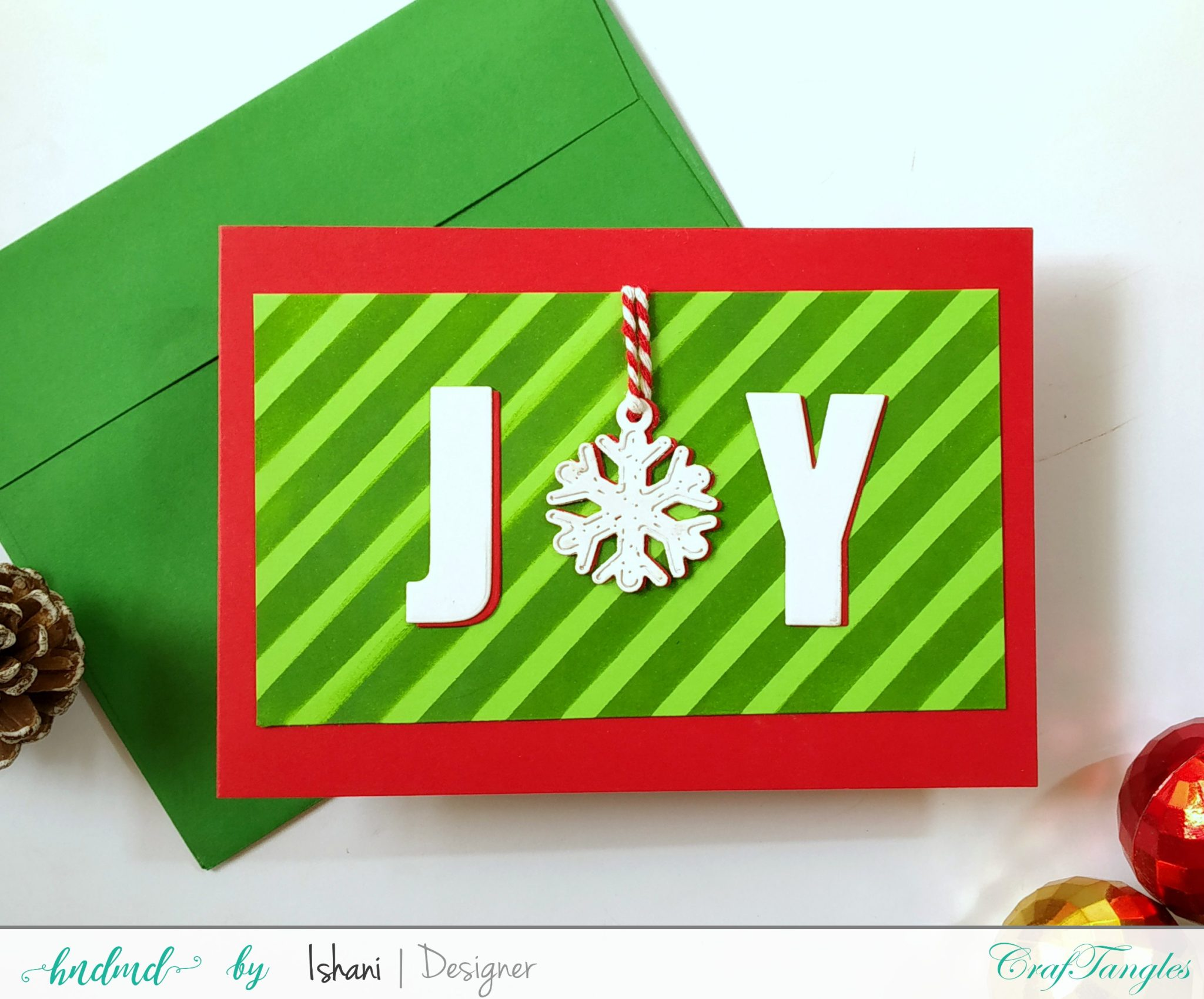 3 Bright and Cheerful Christmas cards 10