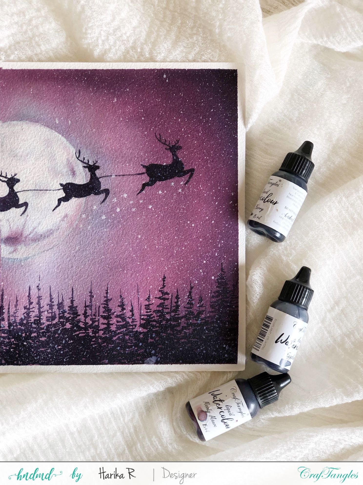 Santa is coming to town - Watercolor Edition 2