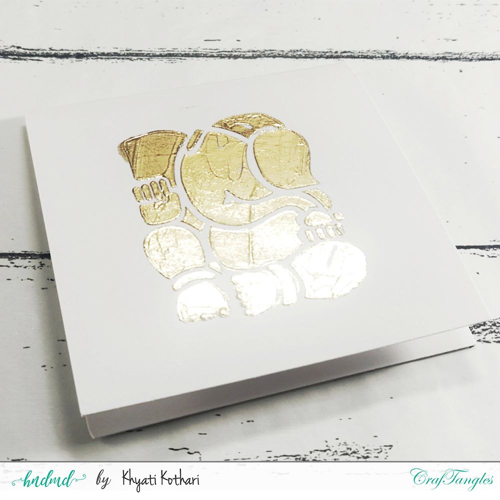 2 ways to foil with stencils 3