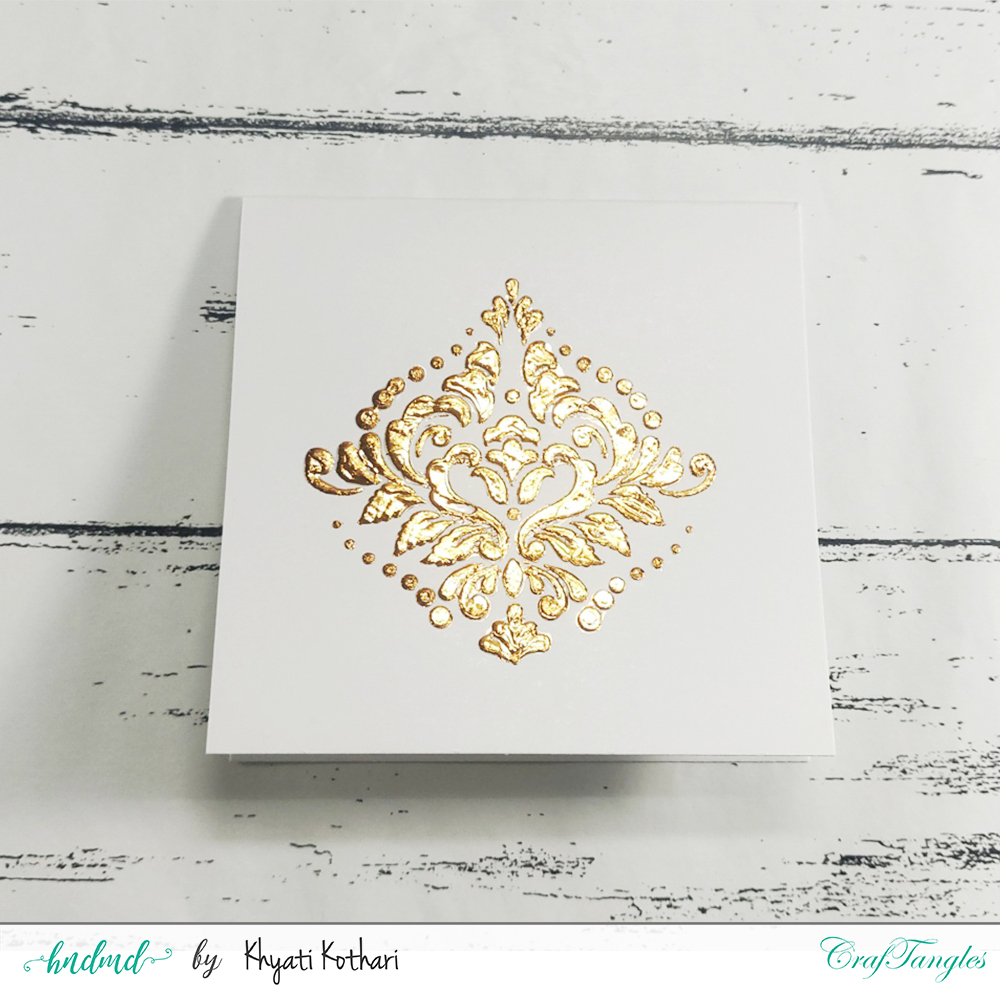 2 ways to foil with stencils 4