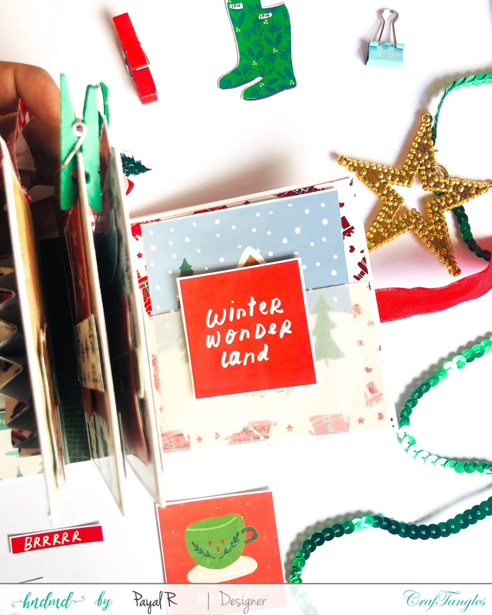Mini Album Tutorial - Christmas Edition 4