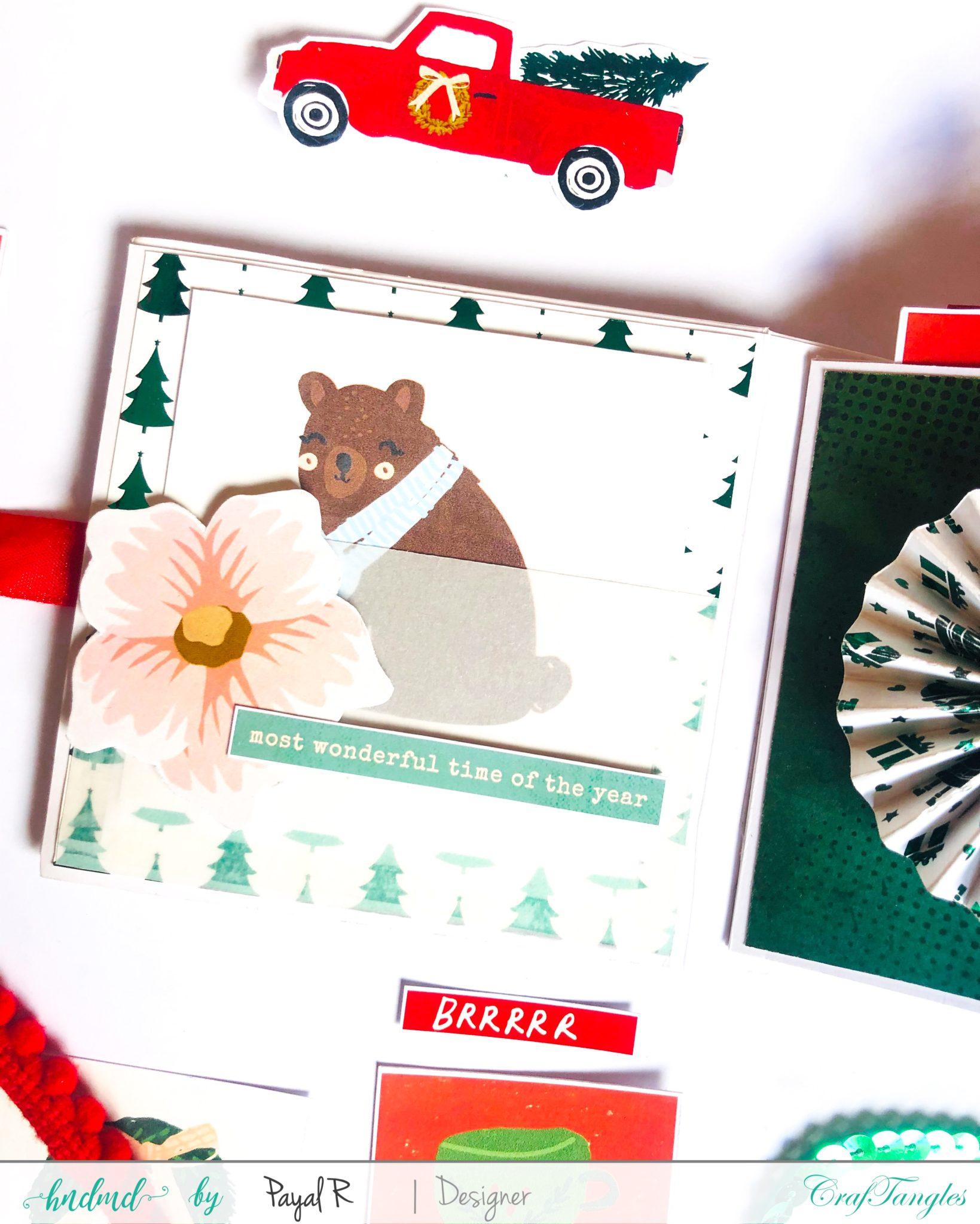Mini Album Tutorial - Christmas Edition 5
