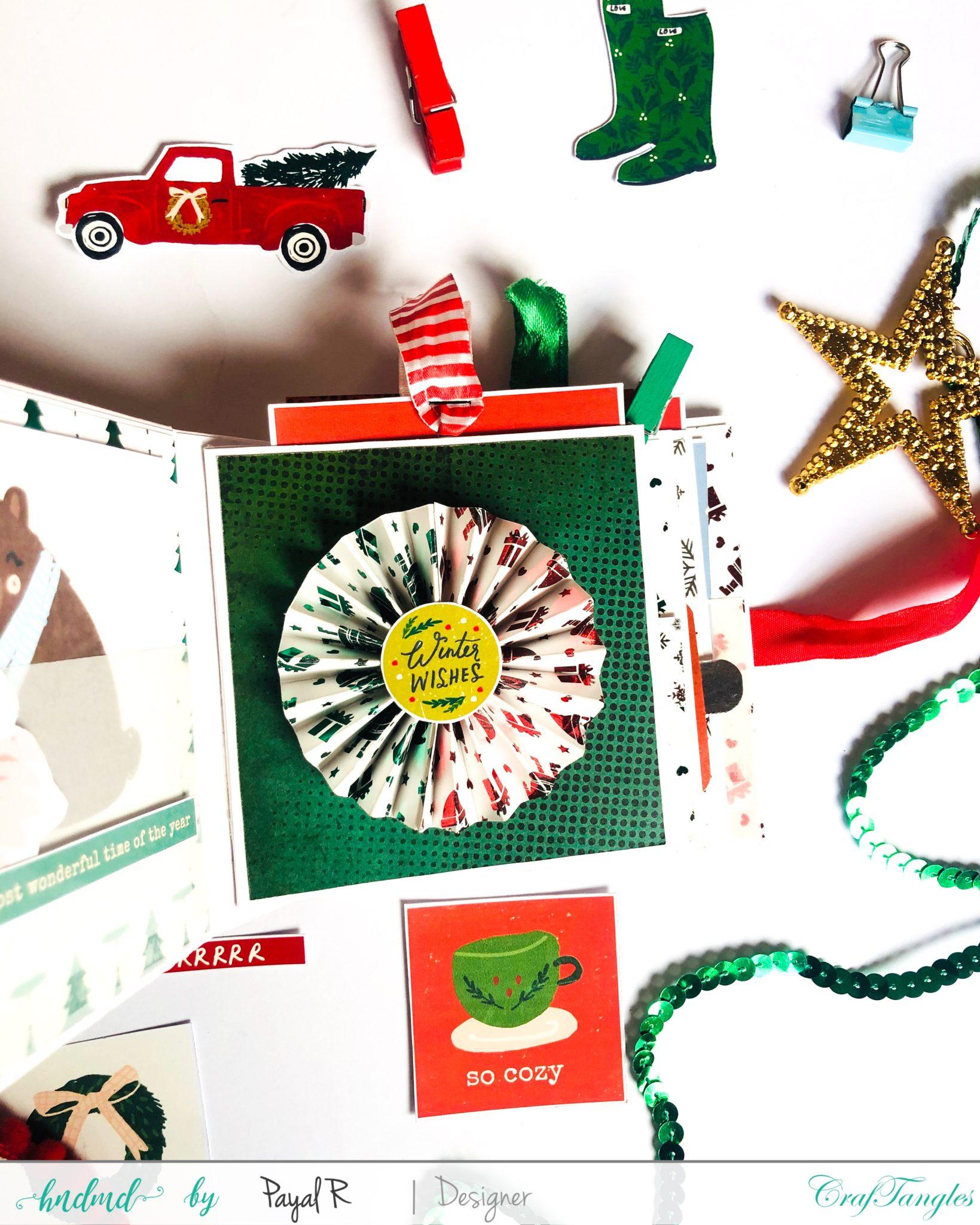 Mini Album Tutorial - Christmas Edition 2
