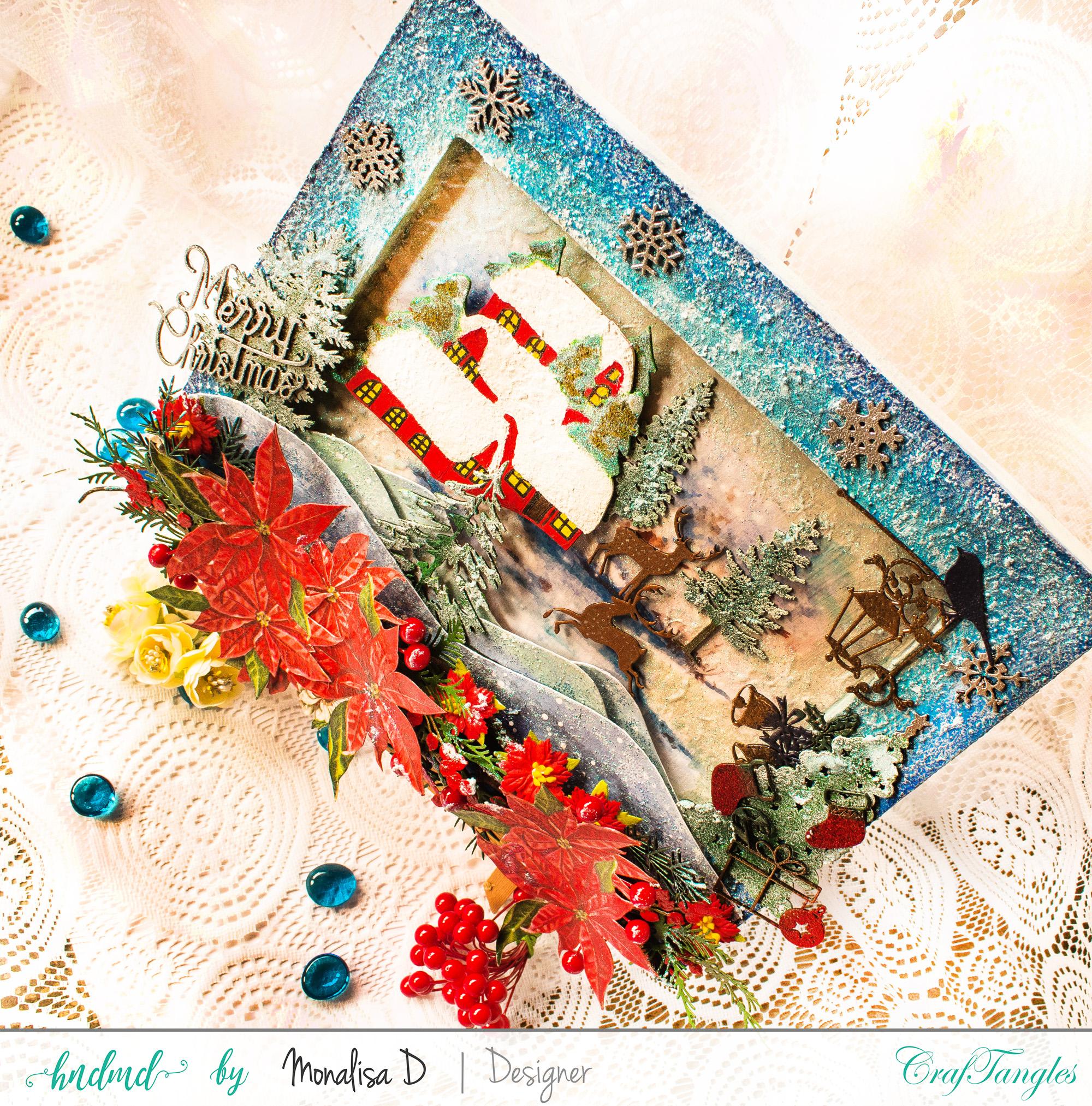 Christmas Wonderland - Mixed Media Project 3