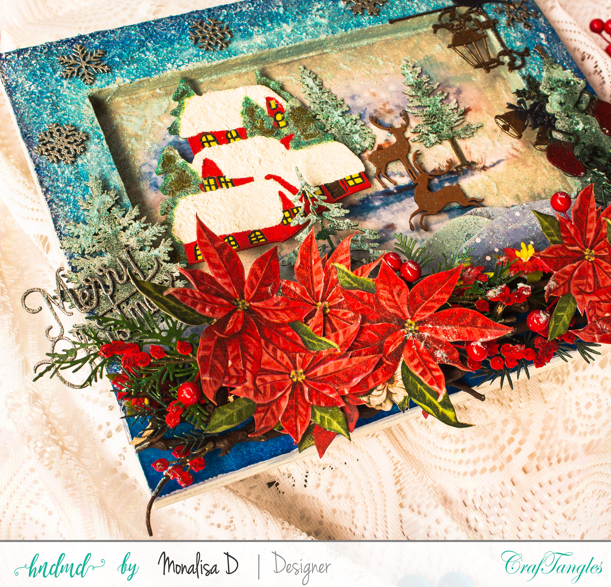 Christmas Wonderland - Mixed Media Project 5
