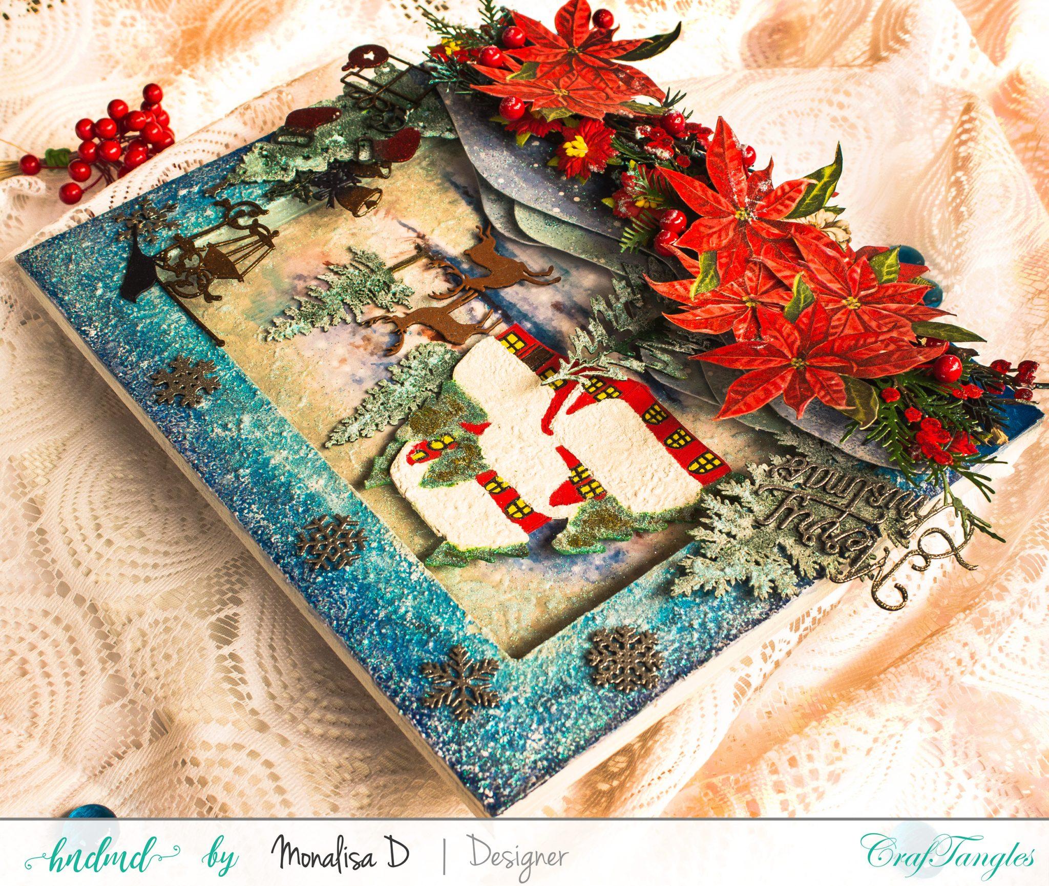 Christmas Wonderland - Mixed Media Project 6