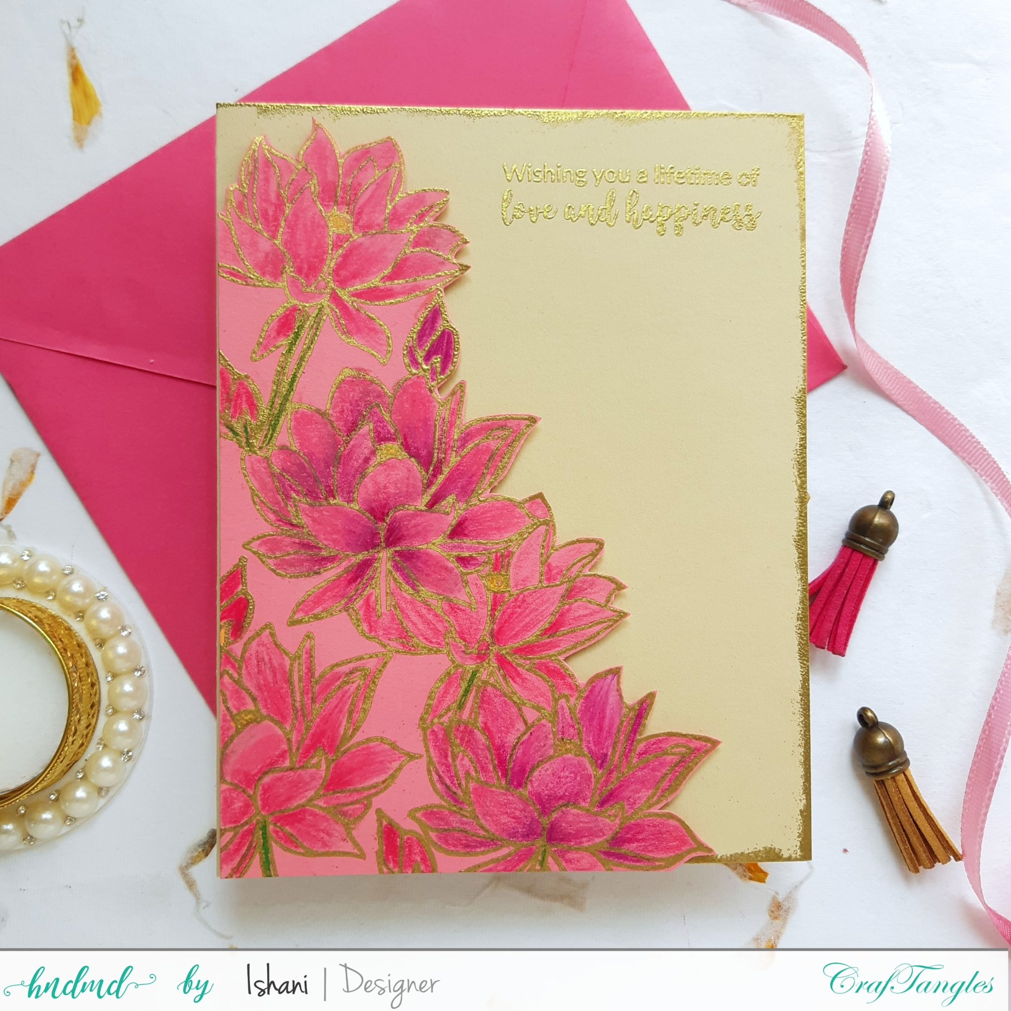 3 Beautiful Anniversary and Wedding cards 6