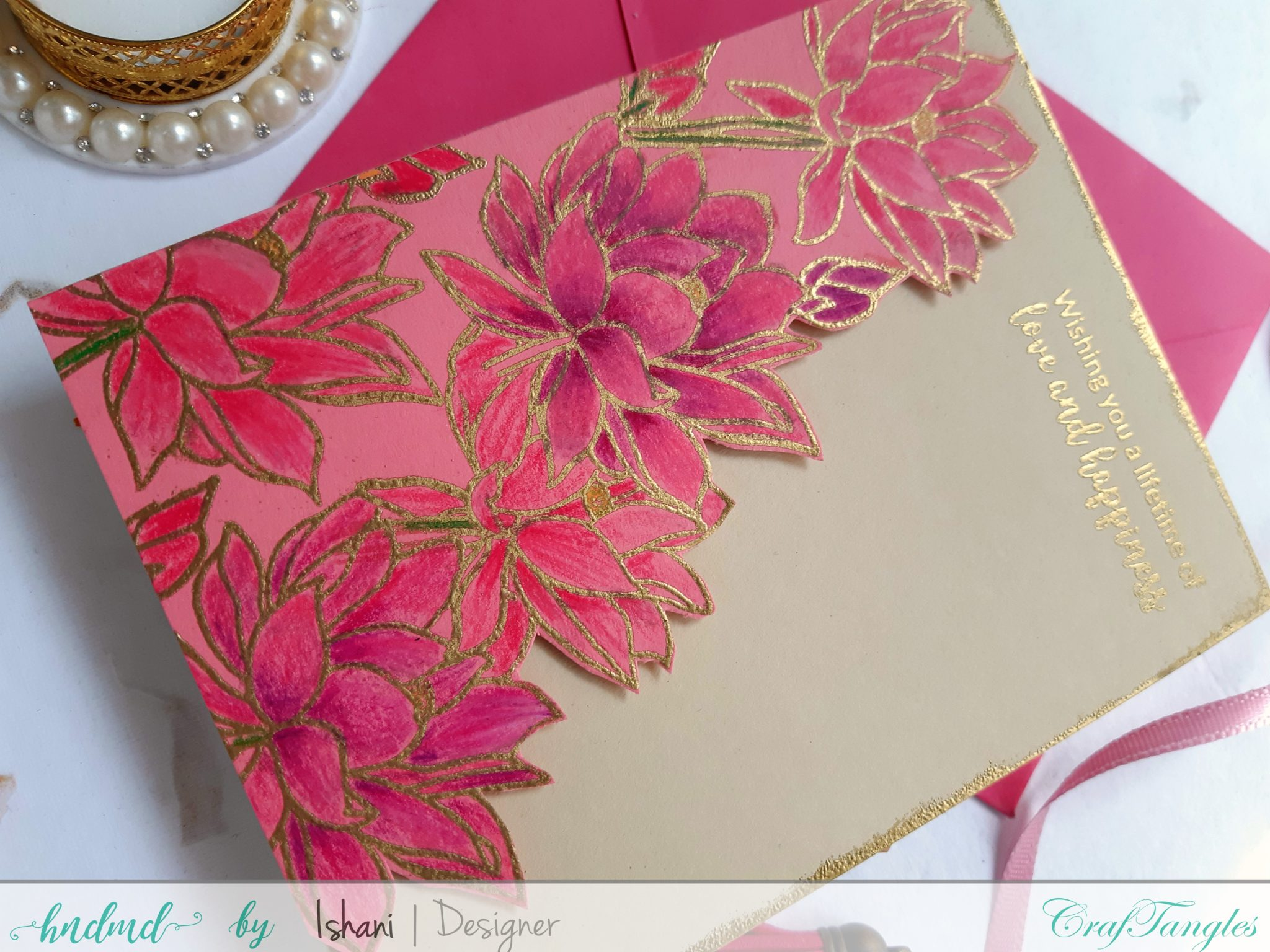 3 Beautiful Anniversary and Wedding cards 8