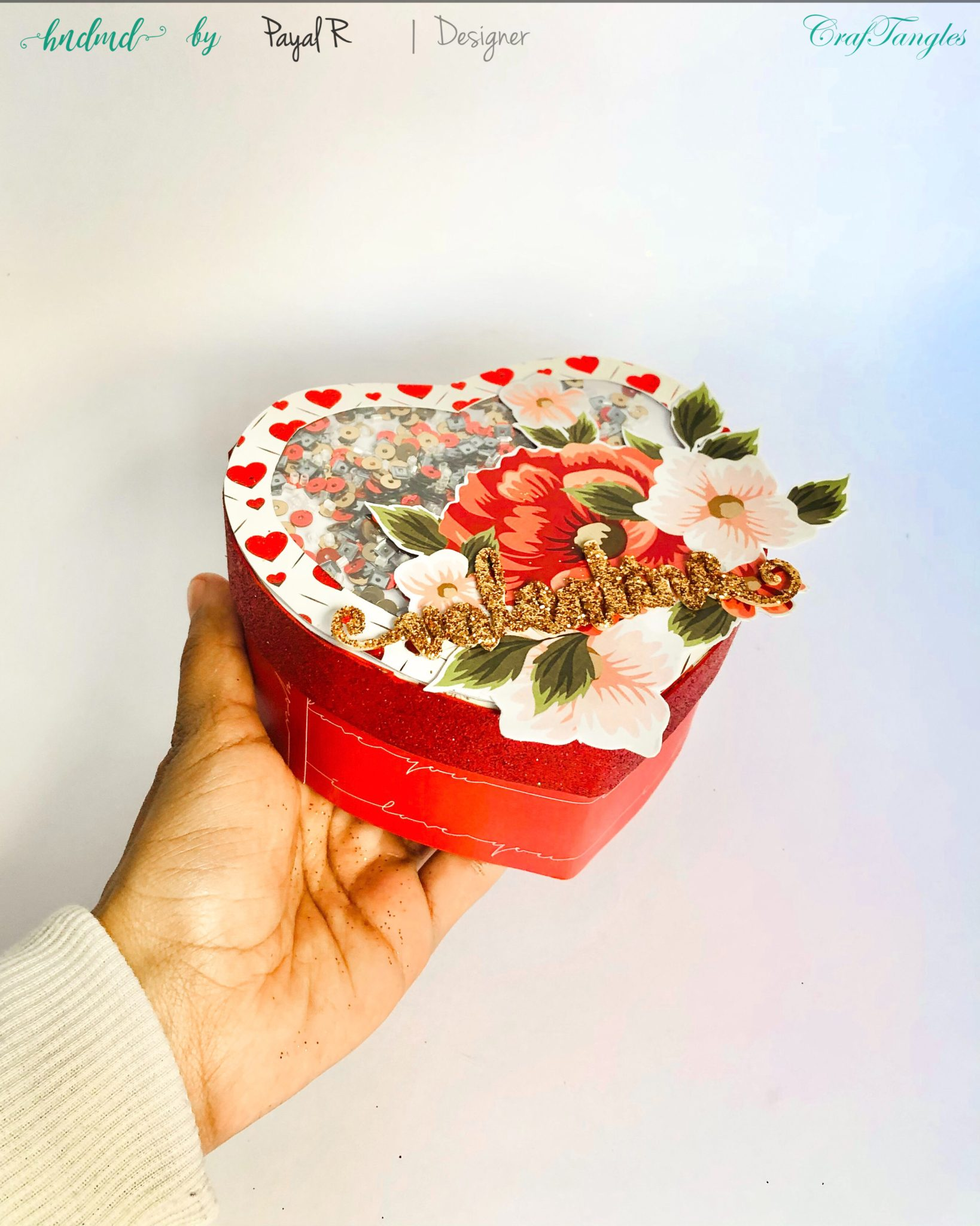 Valentine Gift Box - Upcycle Project 2