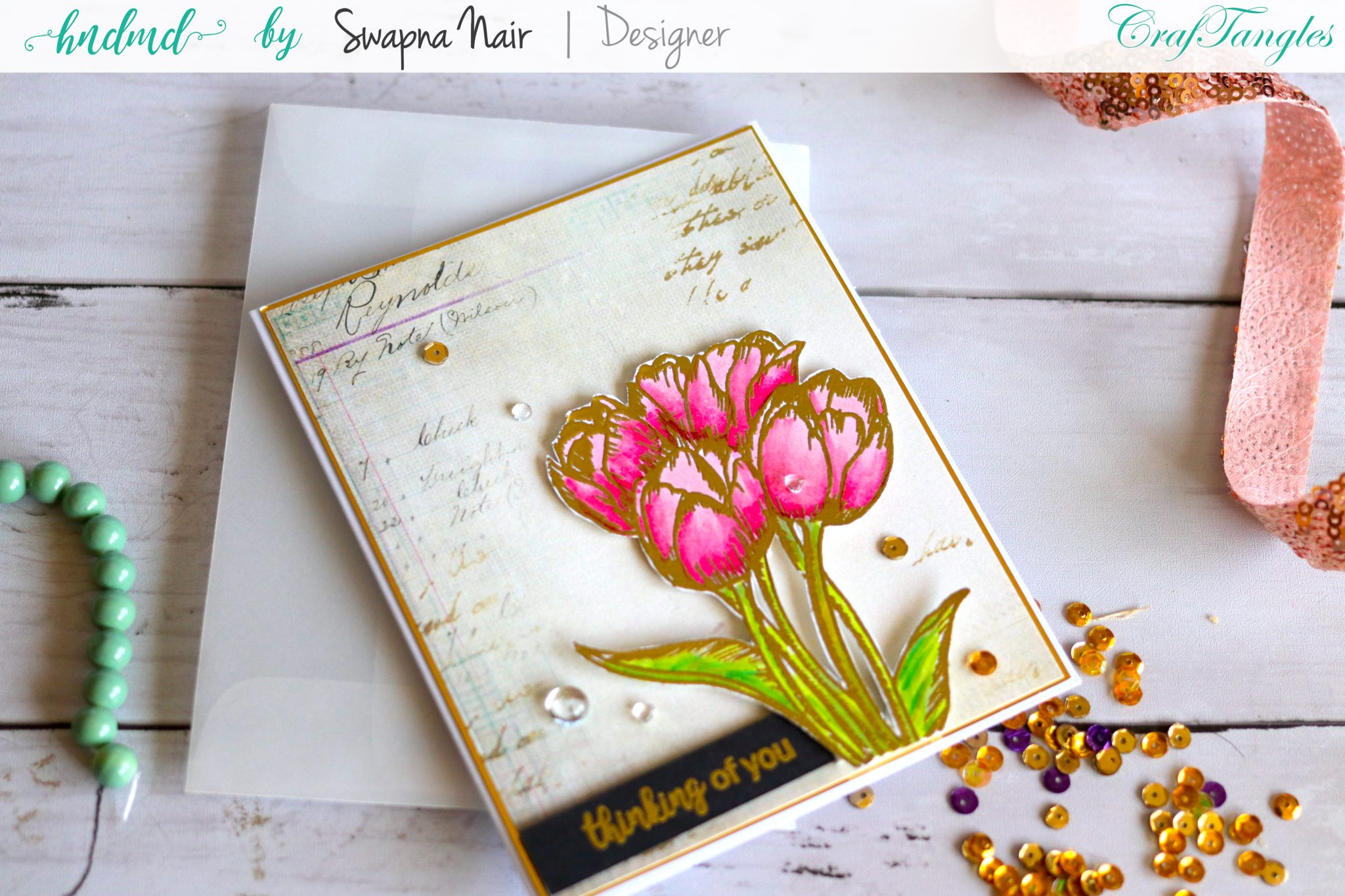 Cardmaking Ideas - Floral cards 6