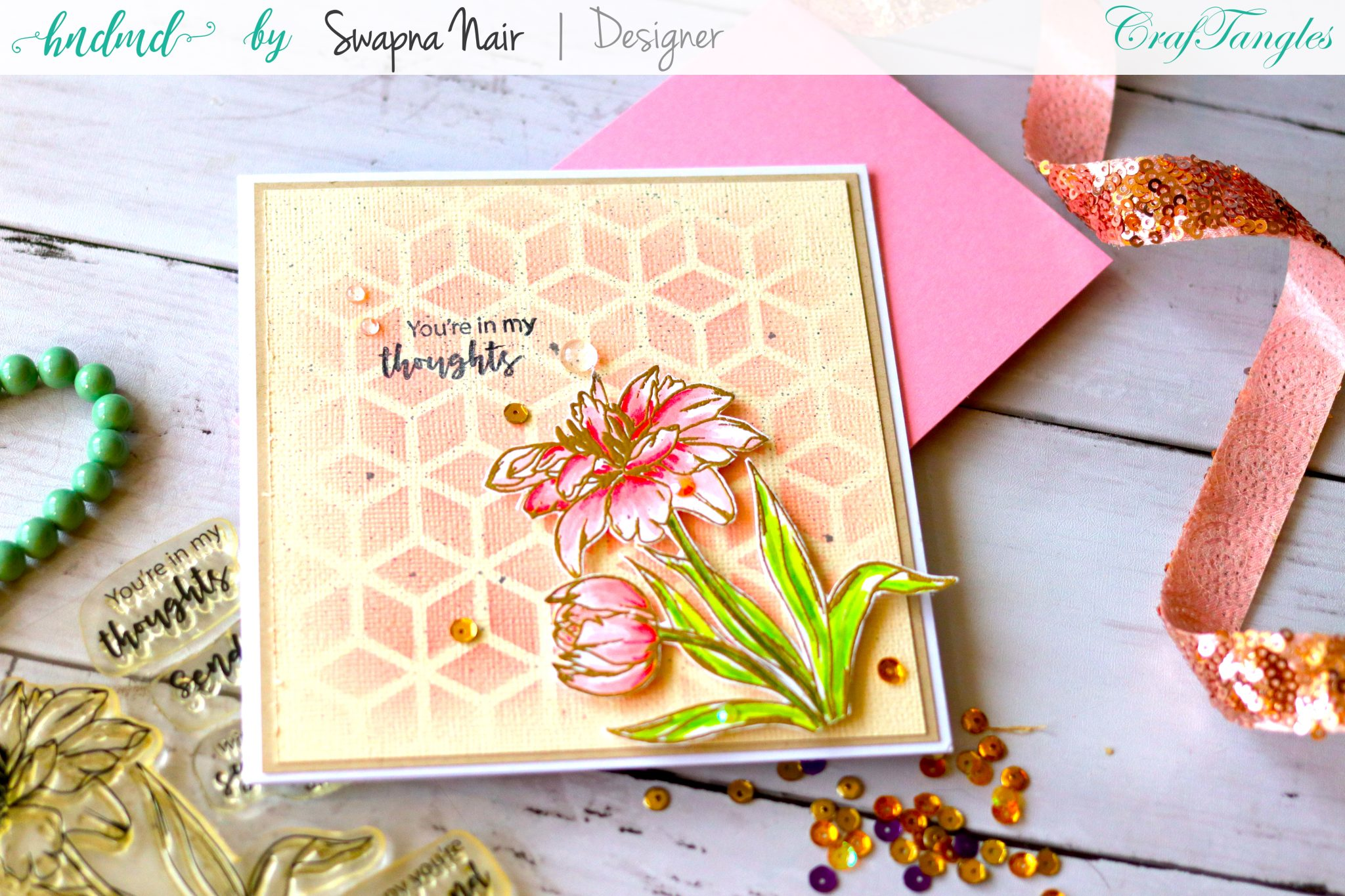 Cardmaking Ideas - Floral cards 4