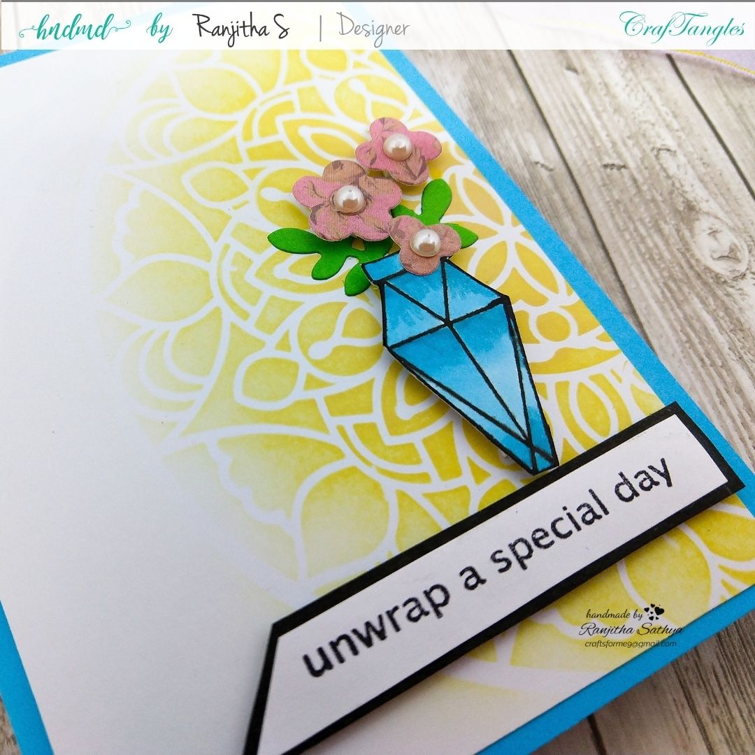 Floral Cards using Pattern Paper 2