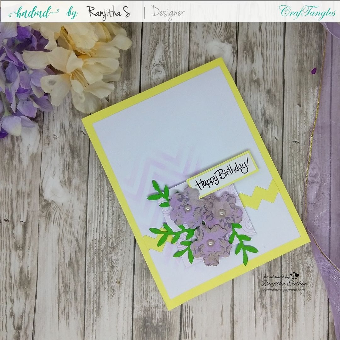 Floral Cards using Pattern Paper 5