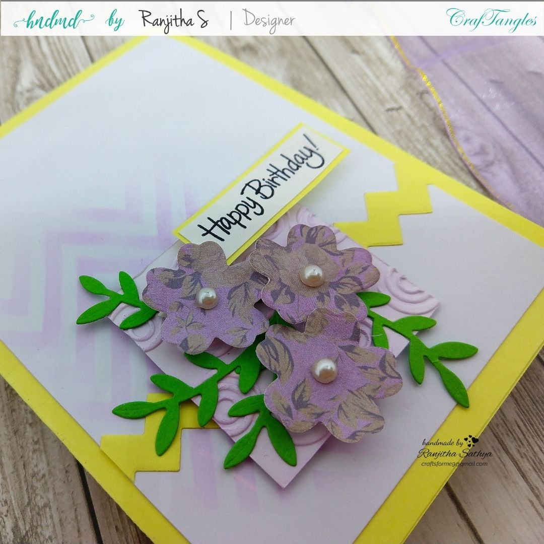 Floral Cards using Pattern Paper 4