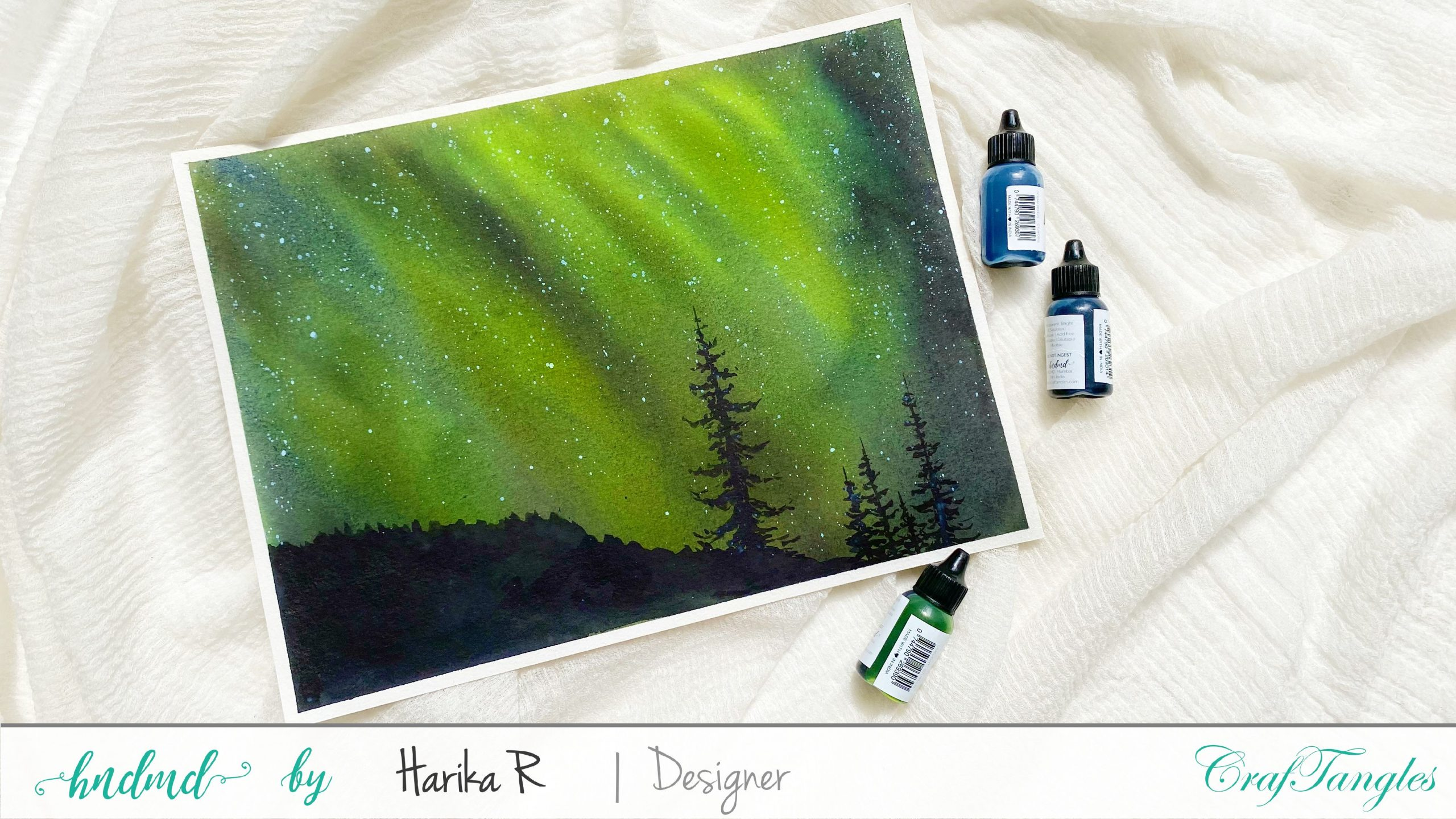 Northern Lights - Watercolor Edition 1