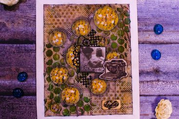 Music Of Life - Mixed Media Journal 1