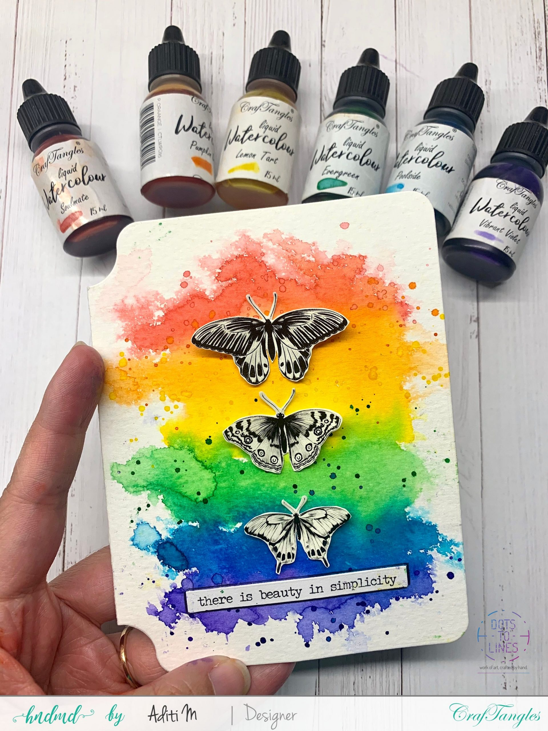 Beautiful watercolour artworks with transfer it sheets