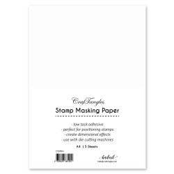 CrafTangles Stamping Masking Sheets (Pack of 10) - A4
