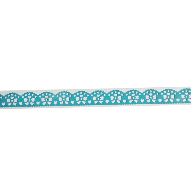 Decorative Tape Thin - Ribbons (Blue)