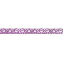 Decorative Glitter Tape - Hearts (Pink)