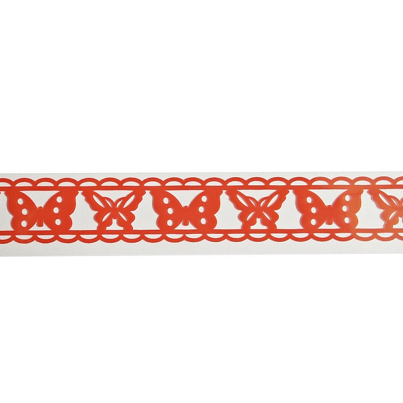 Buy decorative tape butterfly red online in india at for Tape works decorative tape