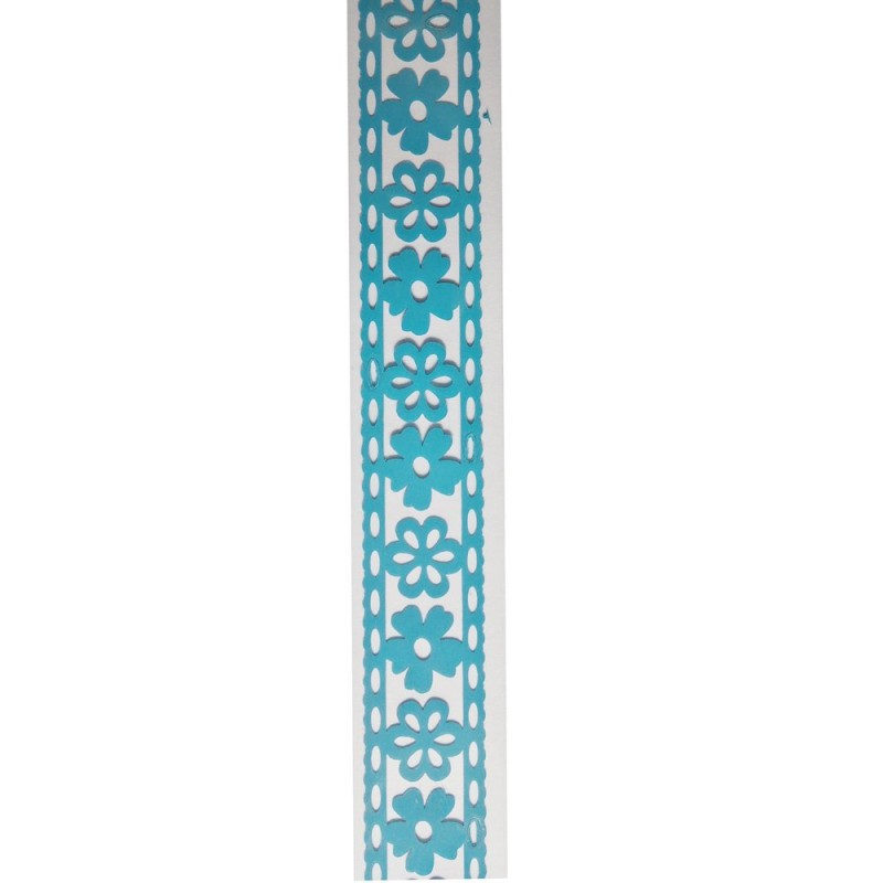 Buy decorative tape floral sky blue online in india at for Tape works decorative tape
