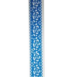Decorative Tape - Roses (Blue)