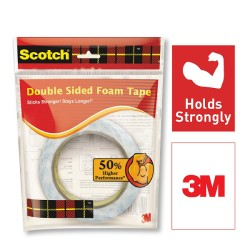 3M Scotch Double Sided Foam Tape (length 3m , width 24mm)