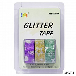 Glitter Tapes pack of 3 (3PGT-I)