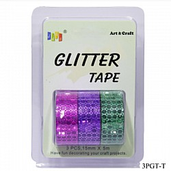Glitter Tapes pack of 3 (3PGT-T)