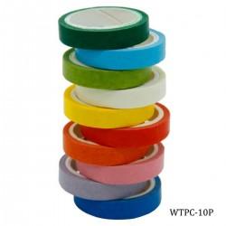 Washi Tape (Set of 10 pcs)