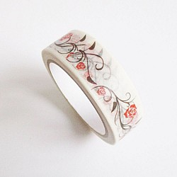 Floral Wine - Japanese Washi Tape