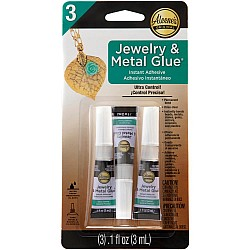 Aleene's Jewelry & Metal Glue (3 per Pkg)