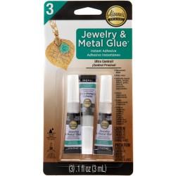 Aleene's Jewelry & Metal Glue (3 per Pkg)