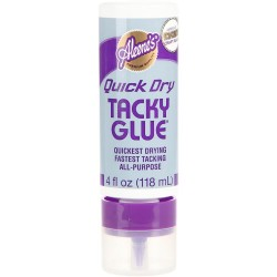 Aleene's Always Ready Quick Dry Tacky Glue 4oz