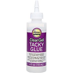 Aleene's Clear Gel Tacky Glue 4oz