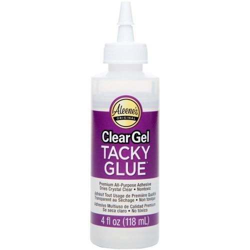 Aleene's Clear Gel Tacky Glue 4oz
