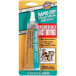 Aleene's Rapid Dry Mixed Media Adhesive 1.5 oz