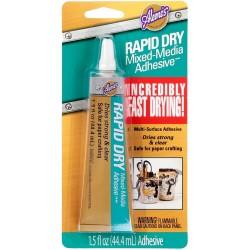 Aleene's Rapid Dry Mixed Media Adhesive 1.5 oz