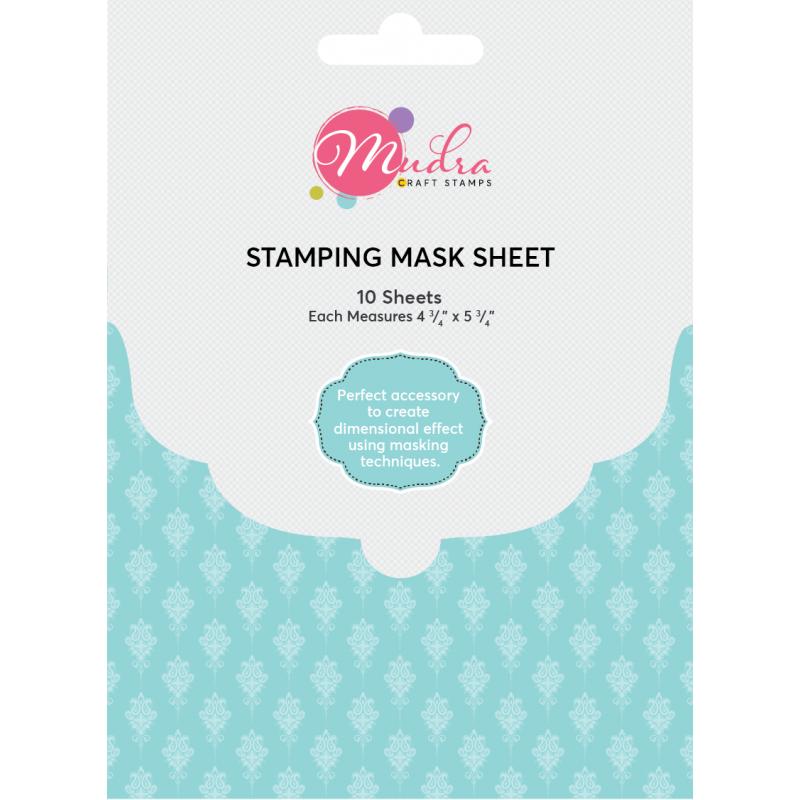 Mudra mask sheet