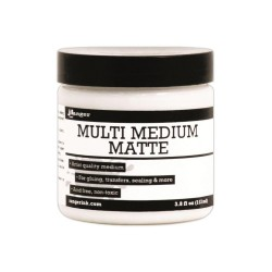 Ranger Multi Medium - Matte Glue Adhesive Paint (3.8 oz)